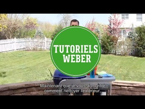 Barbecue Weber - Comment nettoyer votre barbecue charbon - YouTube