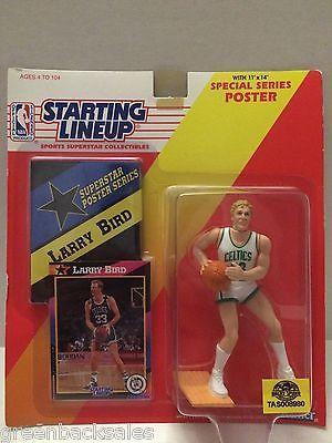 (TAS008980) - Starting Lineup - Larry Bird #33 Boston Celtics