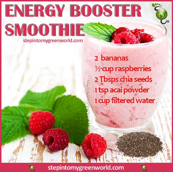 a potent energy booster smoothie to help you increase