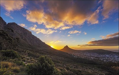 You can reach the summit of Table Mountain by way of a strenuous two-hour hike; however, with limited time to explore this dynamic city, the aerial tram is the recommended mode of transportation.