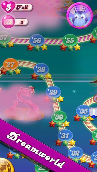 Top Free iPhone App #49: Candy Crush Saga - King.com Limited by King.com Limited - 04/24/2014