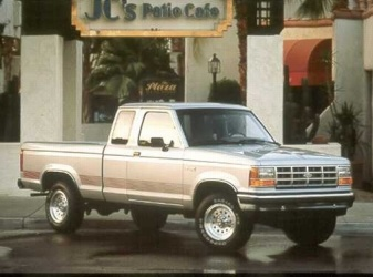 "1990 Ford Ranger 2 Dr XLT Extended Cab  Mine was black.  My first and only ""Lease""."