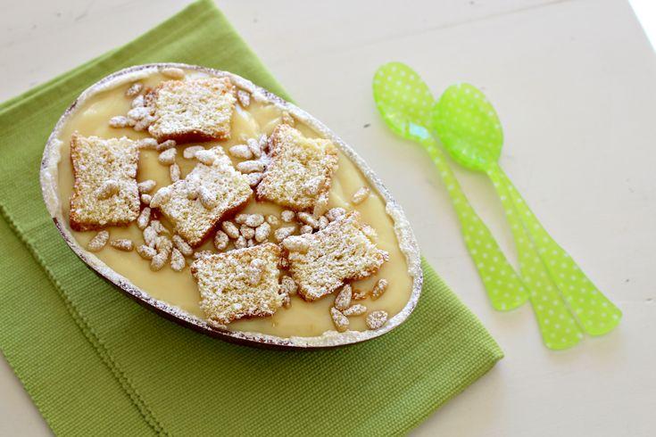 Uovo di cioccolato ripieno di torta della nonna - Le ricette de La Cucina Italiana