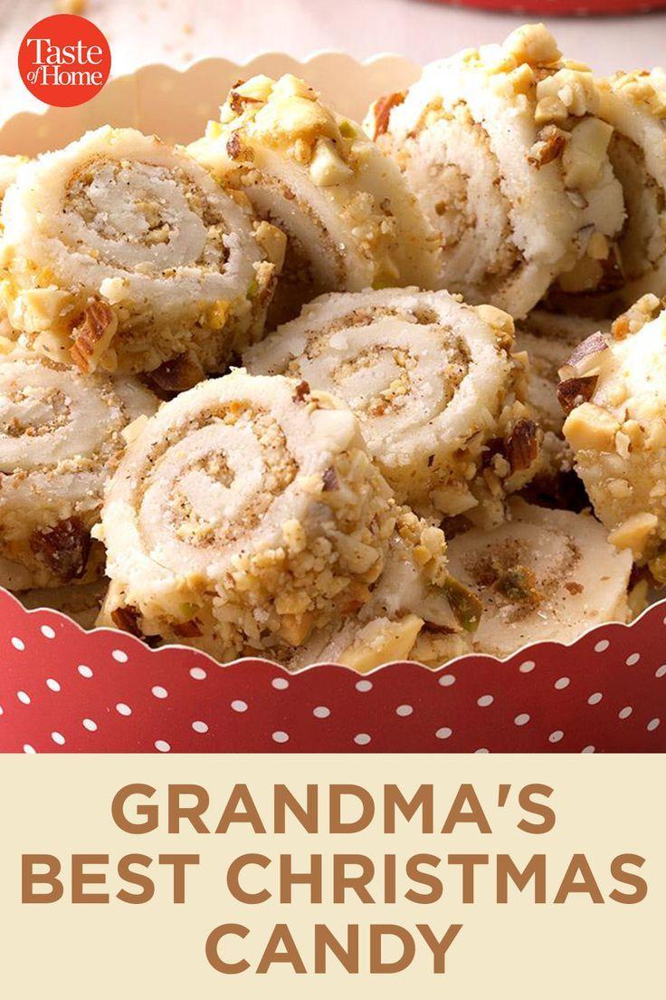 2020 Christmas Candy Recipes Grandma's Best Christmas Candy in 2020 | Christmas candy
