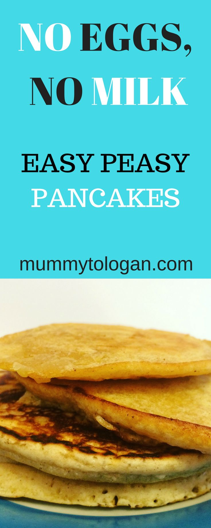By now you're probably fed up and have read about a million pancake recipes on the internet. But i wanted to share this particular recipe with you because of how it came about. So let me just crack on with it, so I'll just crack on with it. (pardon the pun)