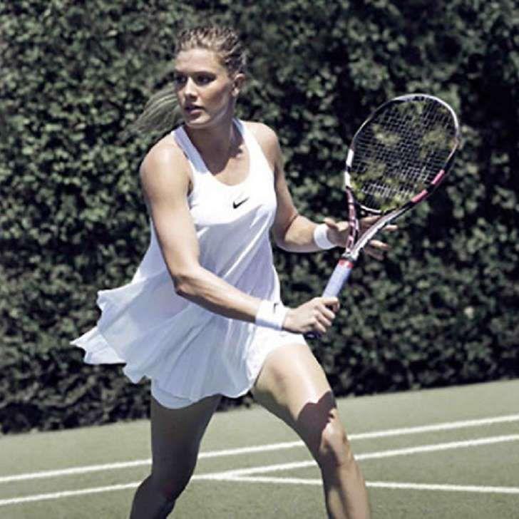 Eugenie Bouchard : une robe qui secoue Wimbledon