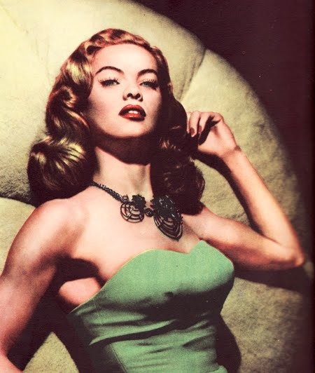 dona drake wearing Joseff Hollywood Jewelry Hair Color | Green Gown www.carolrichelle.com