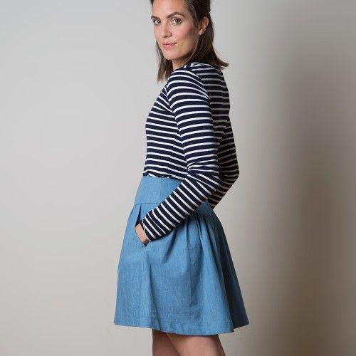 27 besten Sewaholic - Crescent Bilder auf Pinterest | Kurze röcke ...