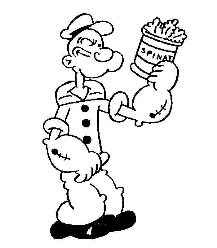 Popeye The Sailor Man Birthday Supplies