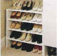 Furniture Closet Shoe Coat Hat Racks You Can Create A Shelf Two Three Or Four Levels To Withstand Lot Of Shoes Need Ikea Rack White Wooden