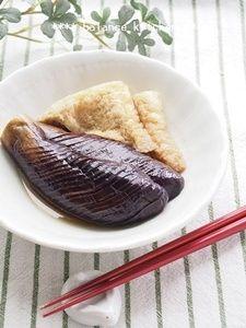 レンジと麺つゆで。なすの煮物【作り置き】