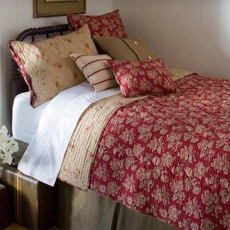 Farmhouse -warm and cozy bedding