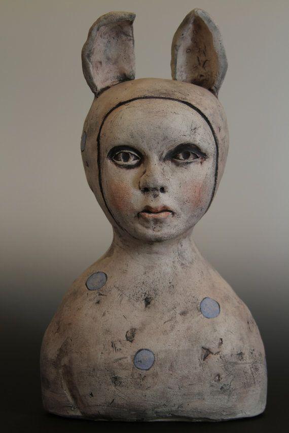 Ceramic Sculpture, Figurative ceramic sculpture, sculpture in clay