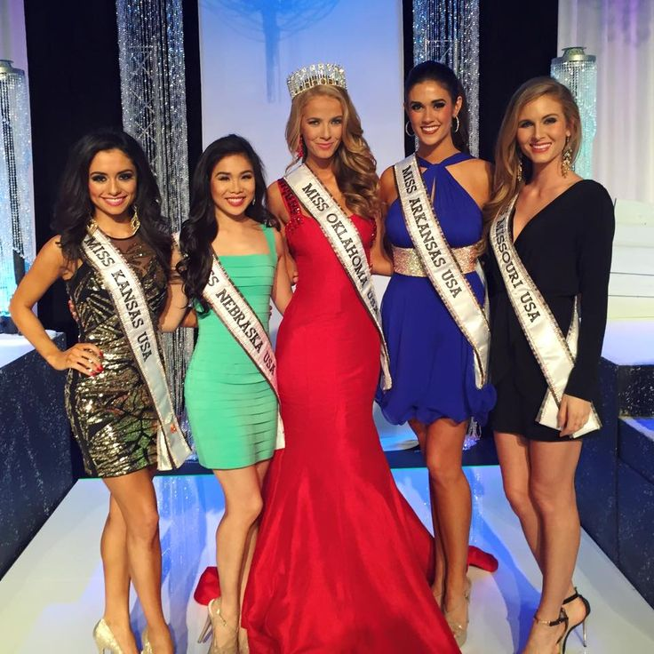 Olivia Jordan Crowned Miss Oklahoma USA 2015