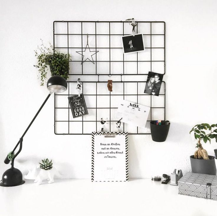 This BARSÖ trellis can also be used as a grid moodboard.