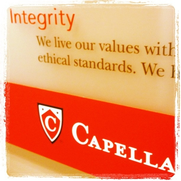 Does anyone have any knowledge about Capella University?