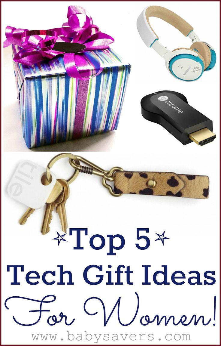Top 5 Technology Gift Ideas for Women.