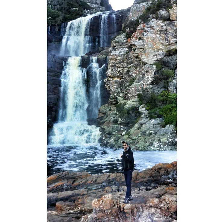 Several bumps and bruises later, #TravelAdventurer Abhishek finds himself face to face with a picturesque waterfall in Tsitsikamma! The hike was not easy, but it was definitely worth it! #GrabYourDream #travel #adventure #SouthAfrica #Waterfall