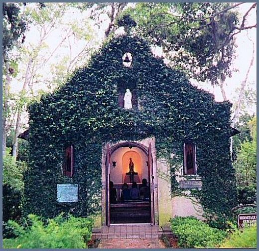 Our Lady of Le Leche Church St  Augustine, Fla  The first Catholic