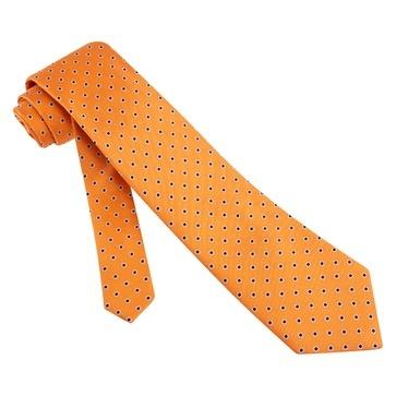 Orange Silk Tie | Pacific Crew Polka Dot Necktie | Ties.Com®