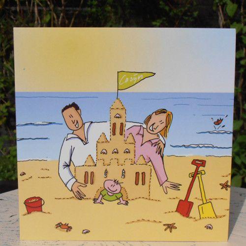 voor Casijn | geboortekaartjes en schilderijen van Dadada