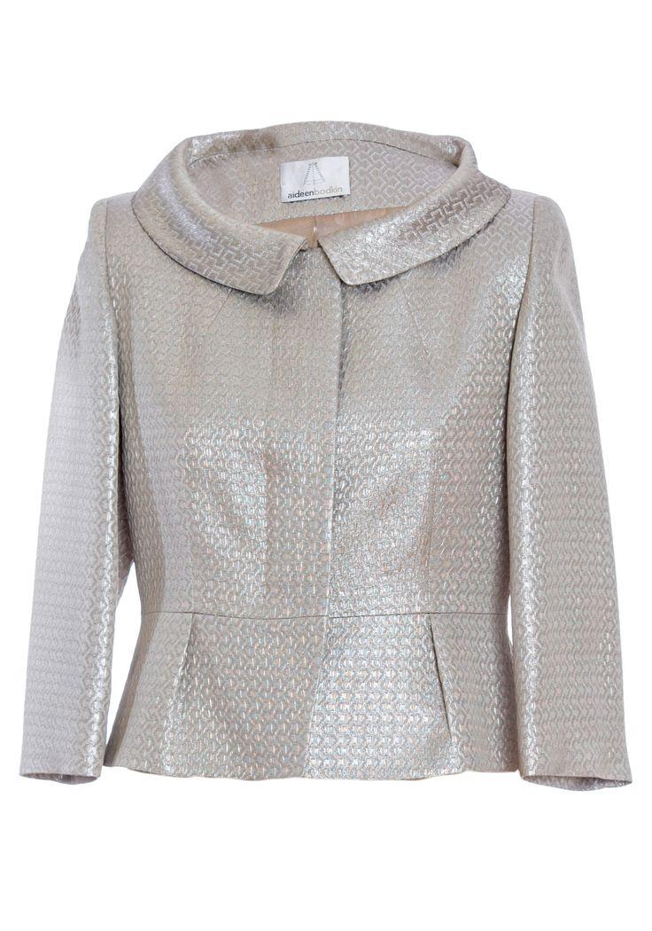 Aideen Bodkin Melia Metallic Jacket 2003, Gold