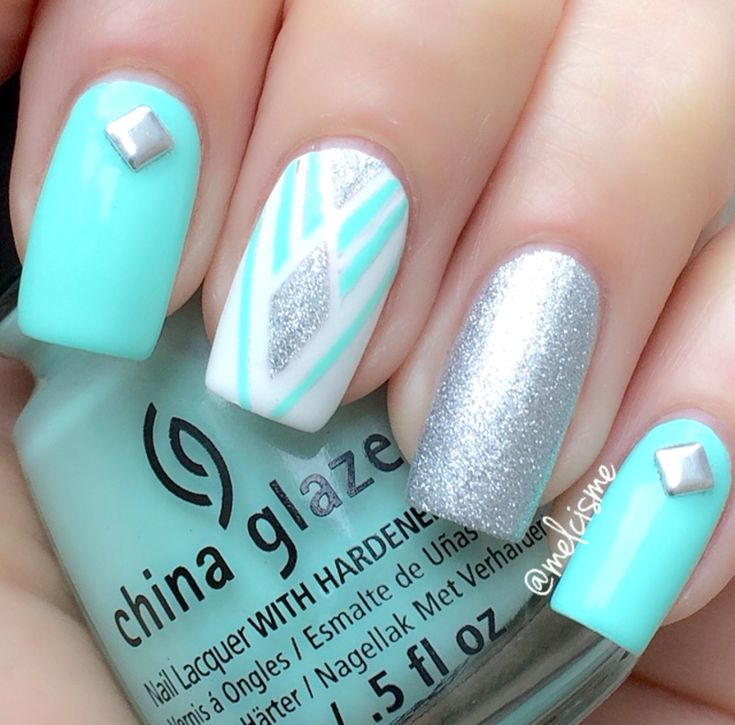 1000+ Ideas About Neon Blue Nails On Pinterest