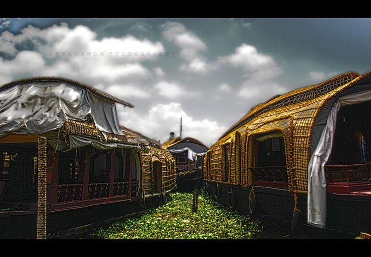 alleppey boat house - Photography by Deva Desperado in My Projects at touchtalent 18822