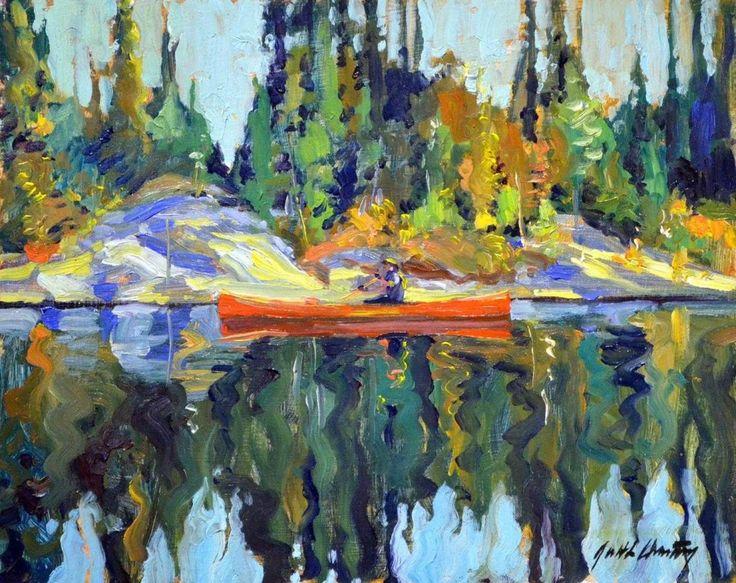Garth Armstrong - Canoe Kawartha Lakes Park 8 x 10