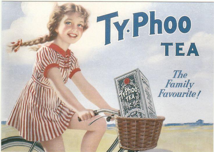 ROBERT OPIE ADVERTISING POSTCARD - TYPHOO TEA | eBay