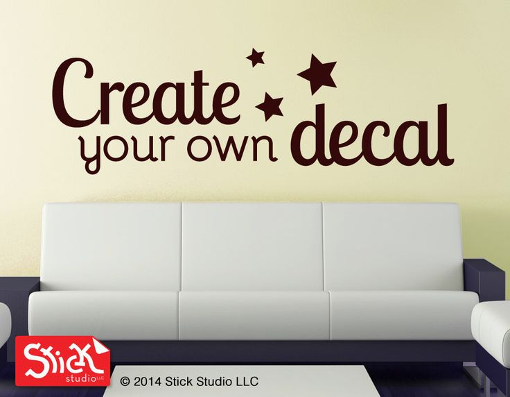 Best Name Wall Stickers Ideas On Pinterest Wall Letter - Vinyl wall stickers custom