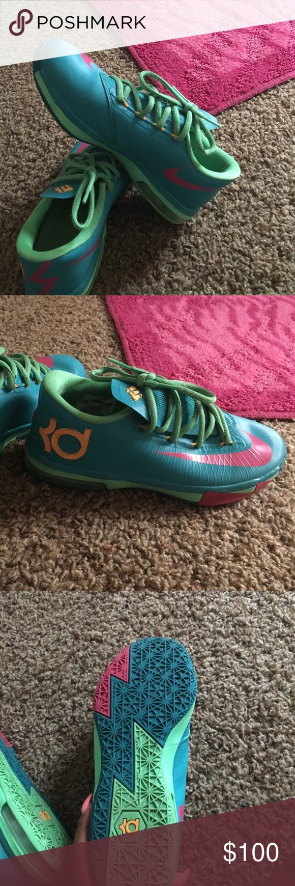 Online Cheap Nike KD 6 Blue Varisty Red White 599424 102