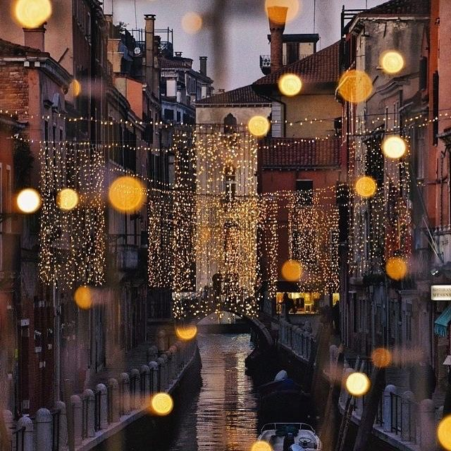 Venice in Christmas