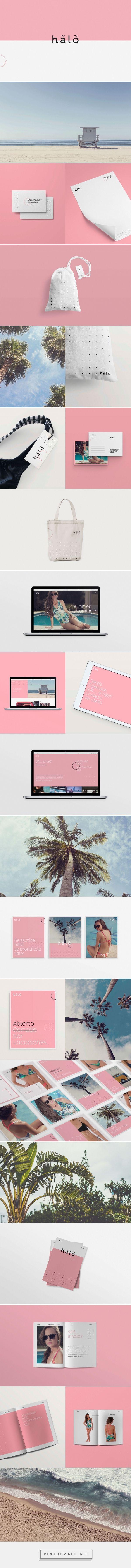 Hãlõ Swimwear Branding by Page