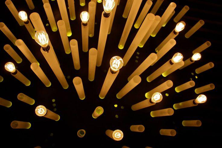 boku asian restaurant, lamp design, santa fe; mexico city.