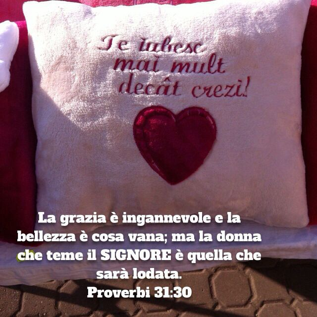 Proverbi 31:30