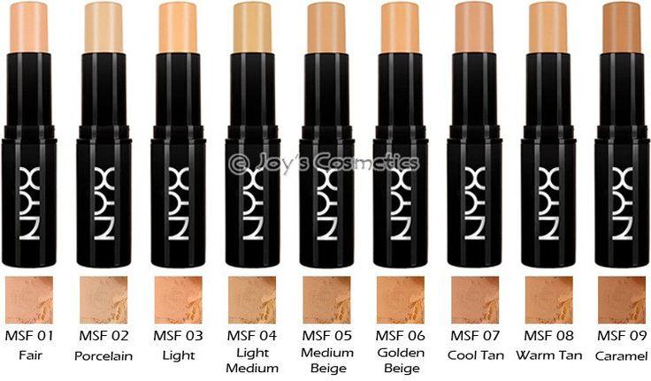 NYX mineral foundation stick - Price: $6.00 ea