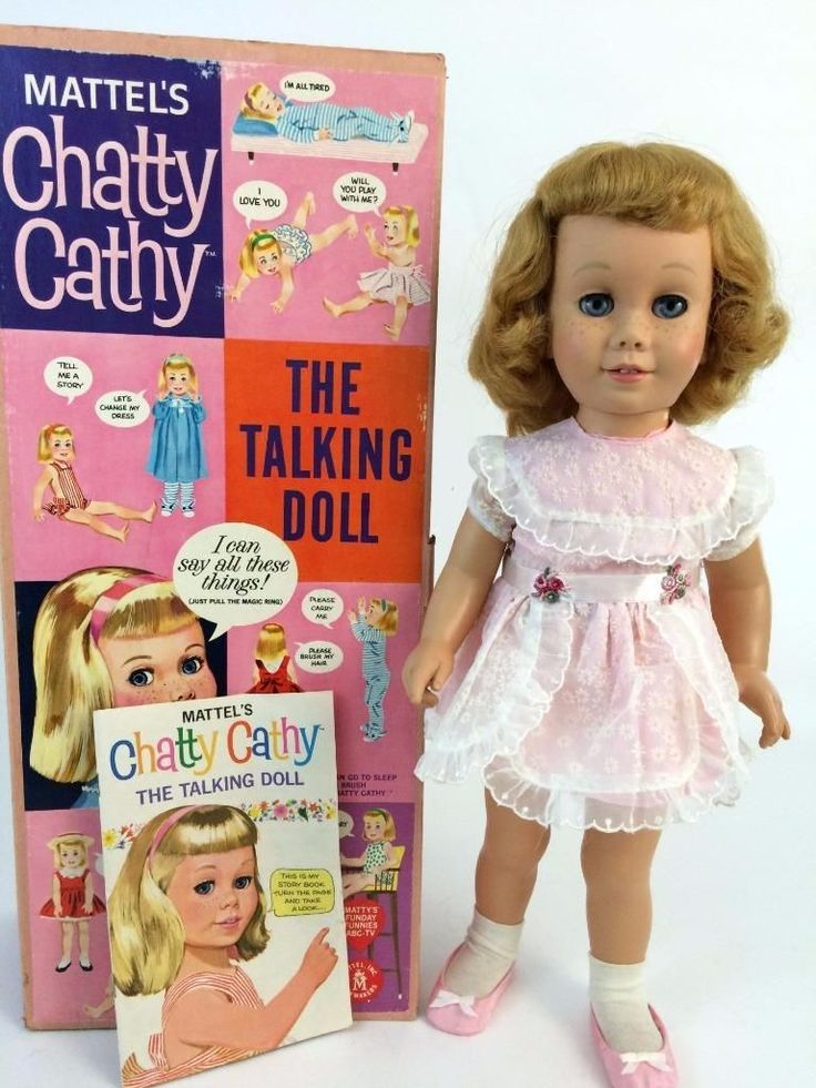 Chatty Cathy 1 Doll 1959 Orig Pink Sunday Visit Dress Japan Shoe Horn Box Book | eBay