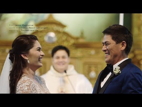 You are What You Eat: Watch Full Coverage of Vic Sotto and Pauleen Luna Wedding