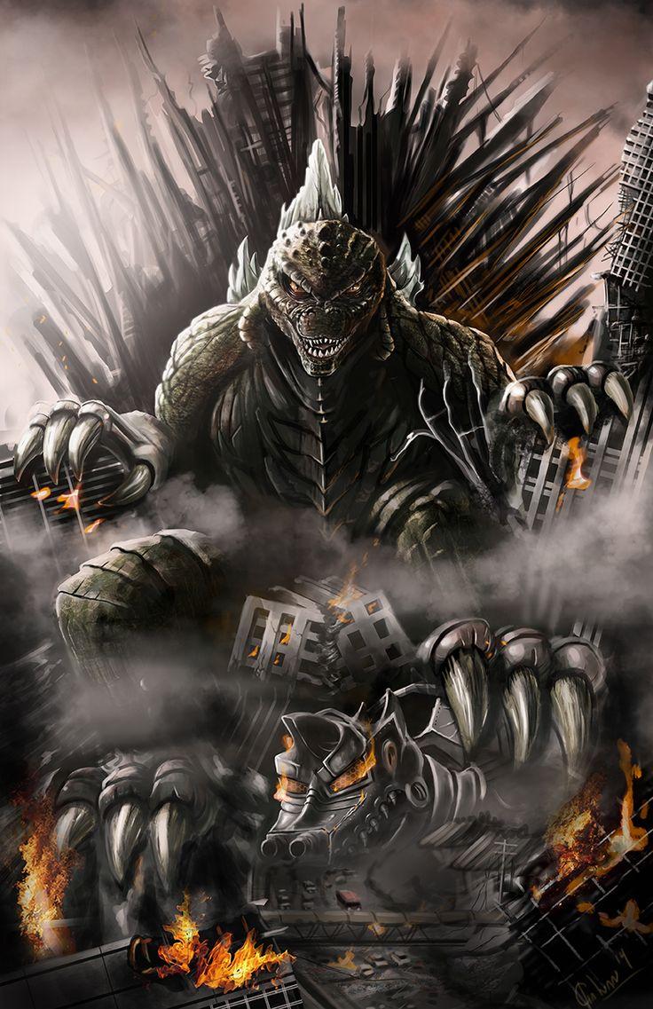 Godzilla 2014 Vs Cthulhu