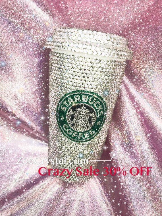 c14f420ddc 30% OFF Cyberweek Sales Black Friday Bedazzled BLING STARBUCKS Coffee Cup /  Mug / Tumbler Glitter with Swarovski Crystal Rhinestones #blackfriday  #cyberweek ...