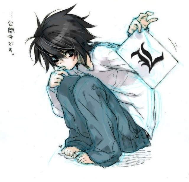 Best Death Note Images On   Death Note Funny Manga