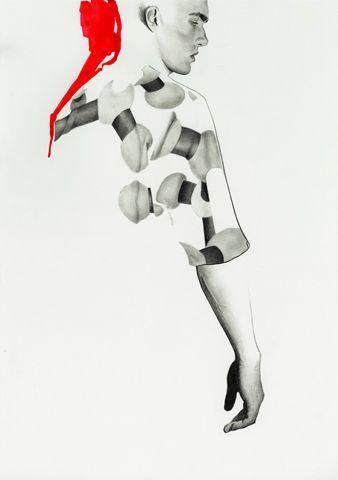 Isssue Maison Martin Margiela Autumn Winter 2014-15, 2014, illustration by Richard Kilroy - Cover