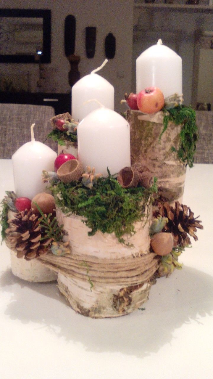 Handmade by me this wonderful nature advent. I have nature.❤