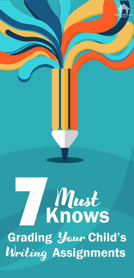 You are capable of grading your student's writing assignments. 7 must knows when grading your student's writing assignment by Sharon Watson, author of the Jump In writing curriculum