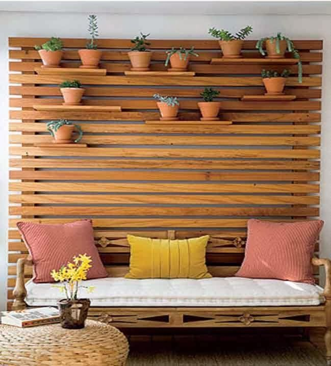 30 ideas creativas con plantas para decorar tu hogar y - Ideas para decorar tu jardin ...