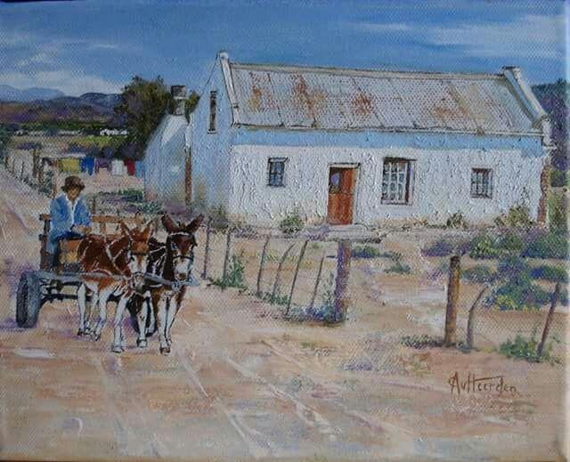 Karoo painting