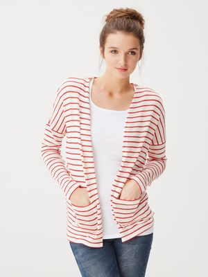 STRIPED CARDIGAN, Snow White