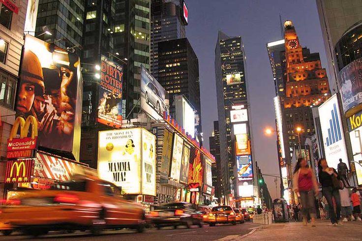 Times Square - New York (Publiekstrekkers) - Verenigde Staten - Droomplekken