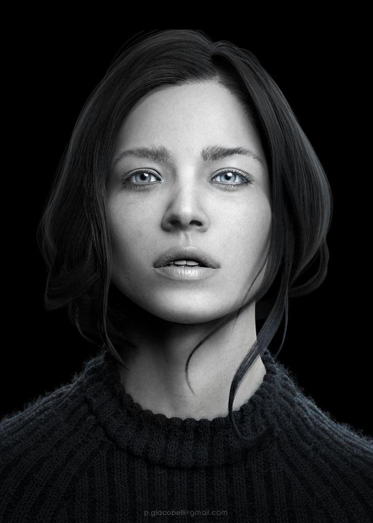 3D Portrait, Pasquale Giacobelli on ArtStation at https://www.artstation.com/artwork/3d-portrait-2abbceca-b43b-4a23-b44b-c1346ea2fc18